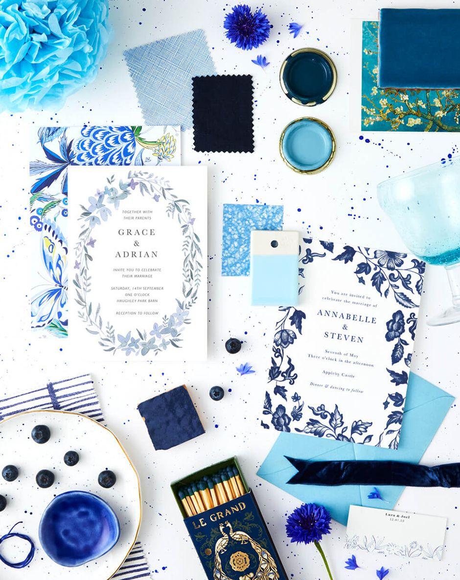 06.17 TheFold WeddingColourThemes BlueWhite Instagram