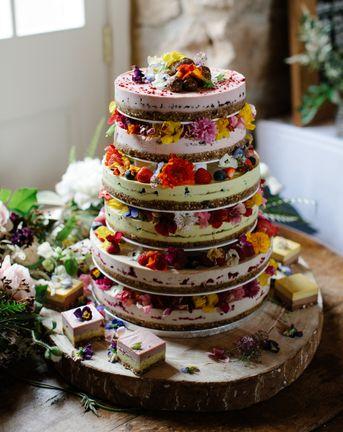 C5 Rustic Wedding Cake Cover