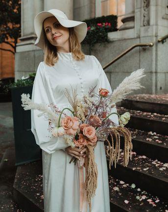 Bride Floppy Sun Hat