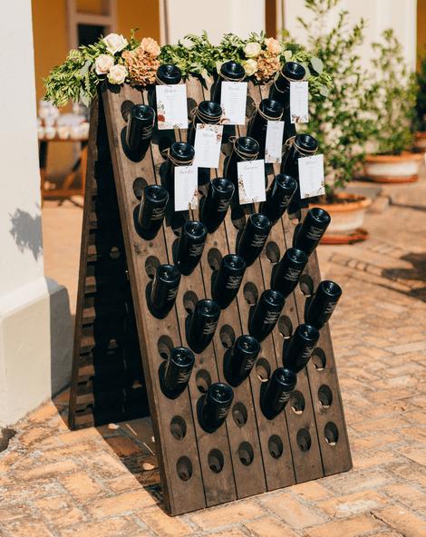 Wine Rack Table Plan