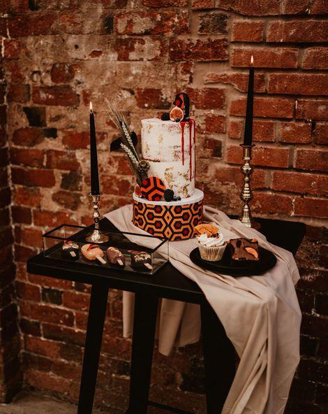 Horror Movie Wedding Cake