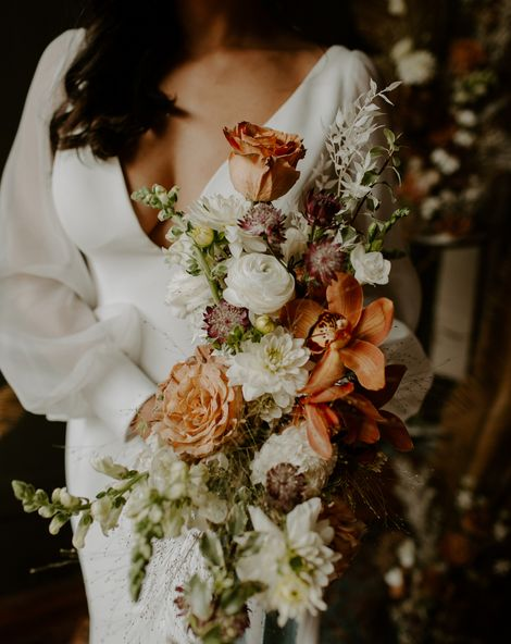 Low Cut Wedding Dress 2