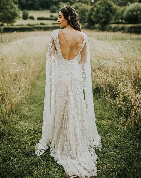 customised embroidered veil