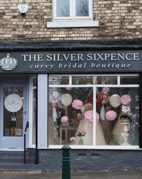The Silver Sixpence - Curvy Bridal Boutique