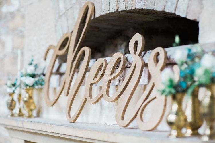 Laser Cut Wood Bar Sign