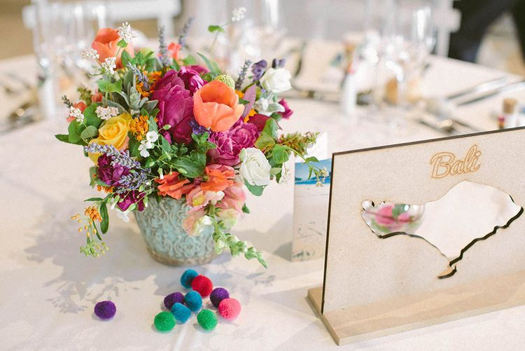 Bright Table Centrepiece