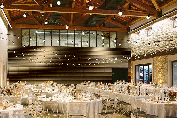 Industrial Wedding Reception