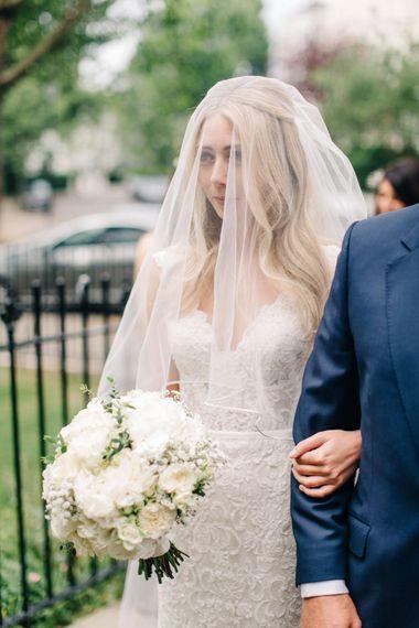 Elegant Bride in Maggie Sottero Gown
