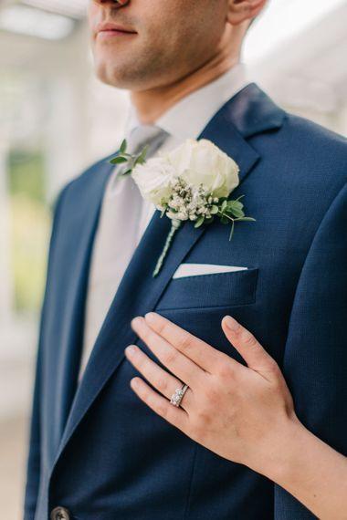 Wedding Band & Buttonhole