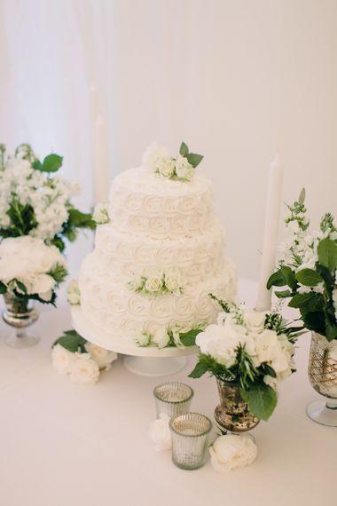 Elegant White Marks and Spencer Wedding