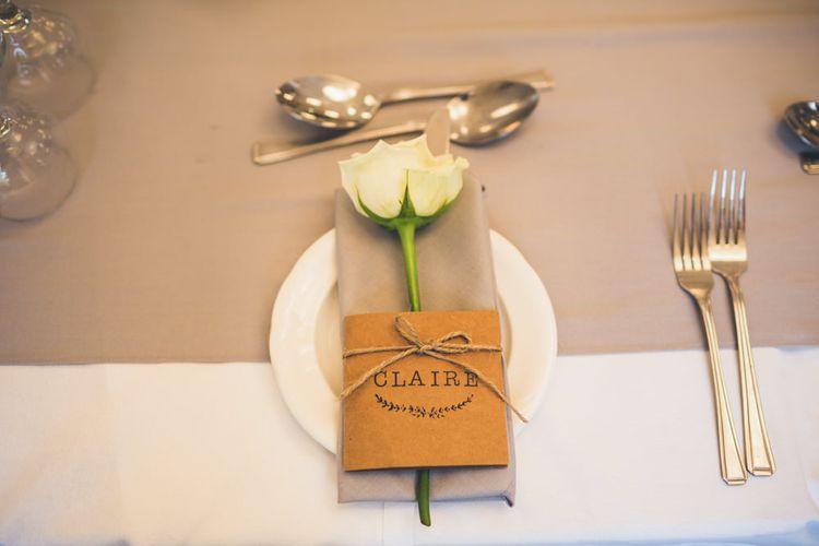 Single Stem Roses for Wedding Favours