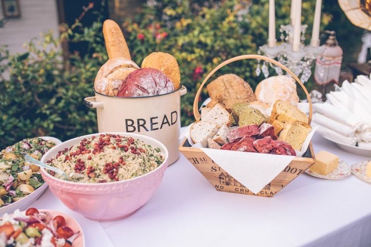 Home Made Food For Wedding Guests
