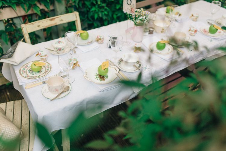 Intimate Dining Space For A Small Wedding