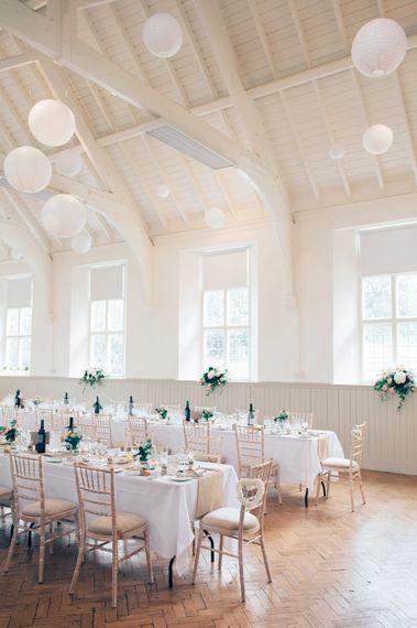 Village Hall Wedding Reception