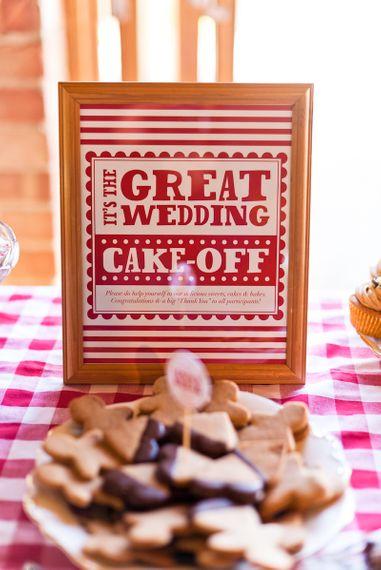 Wedding Bake-Off Style Dessert Table