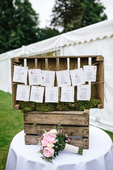 Wooden Crate Table Plan