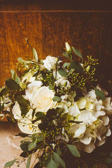 White & GreeneryBouquet