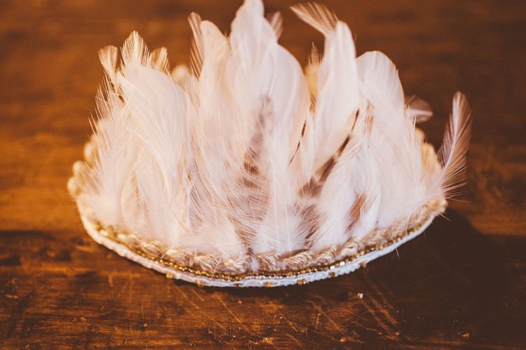 Fools Gold Daughter Feather Headpiece