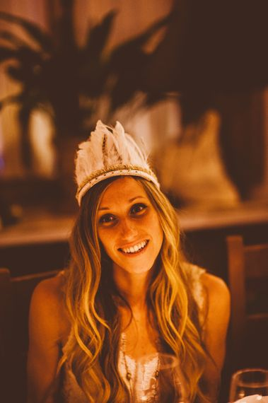 Fools Gold Daughter Feather Headdress