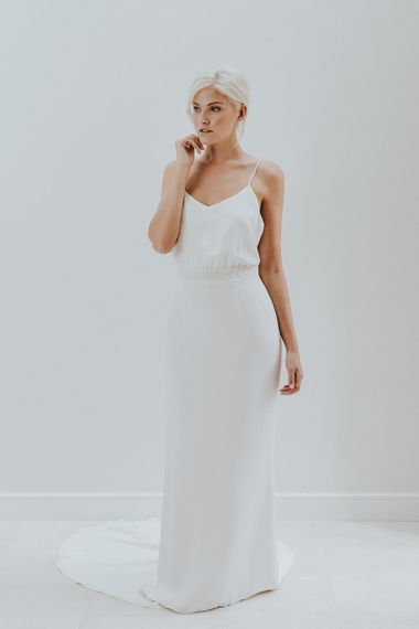 Elegant & Minimal Bridal Gowns by Charlotte Simpson
