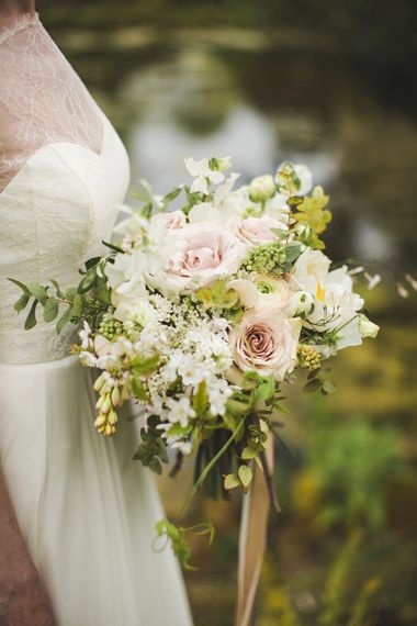 Blush Bouquet by Swallows and Damsons