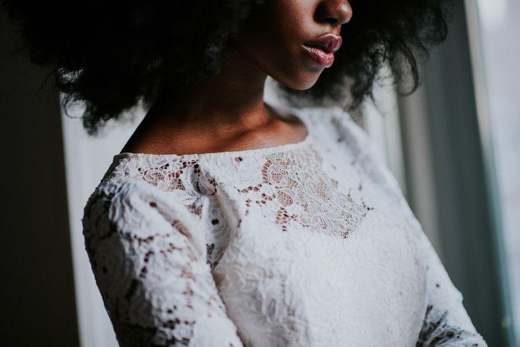 Lace Otaduy Wedding Dress