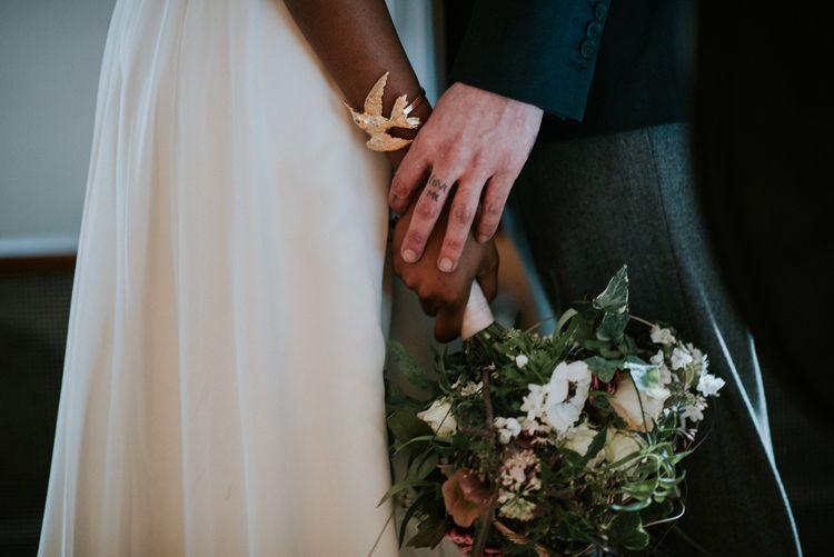 Bird Bangle | Bridal Accessory