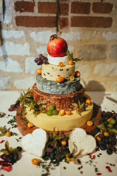 Cake of cheese by Jacaranda Catering