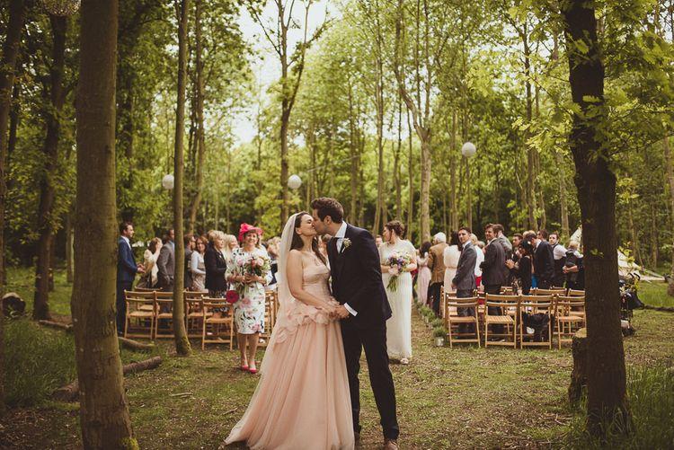 Outdoor Woodland Ceremony
