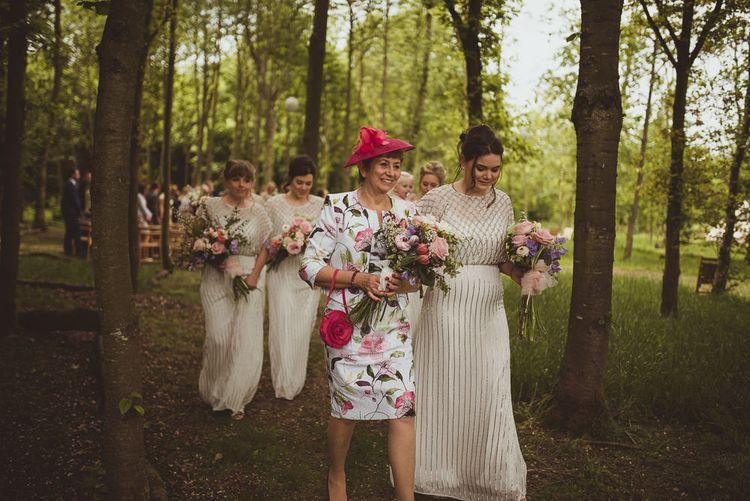 Bridal Party Exit