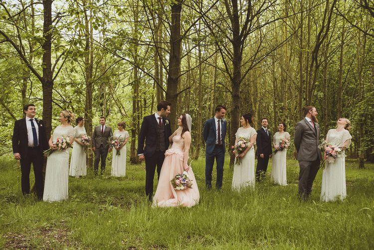 Woodland Wedding Party Portraits