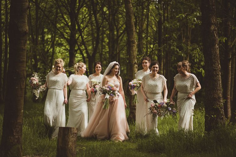 Woodland Bridesmaid Portraits