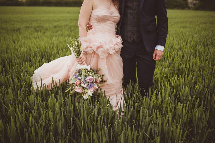 Blush White by Vera Wang Wedding Dress