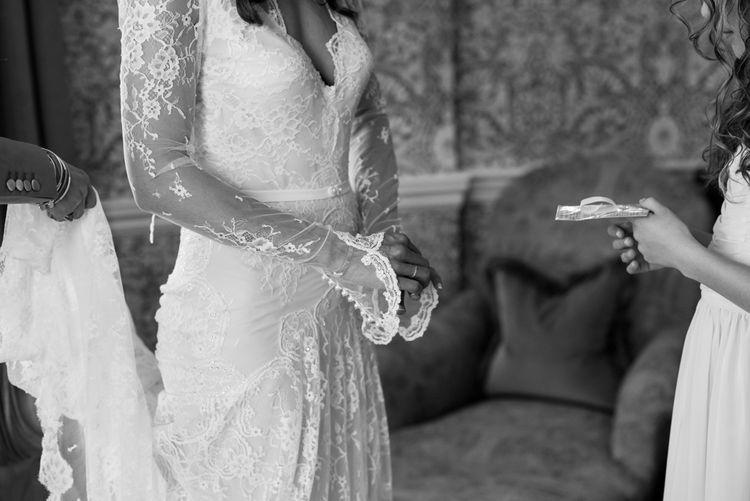 Lace Inbal Dror Wedding Dress