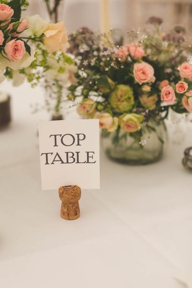 Top Table Wedding Sign