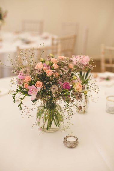 Pink Flora Centrepiece