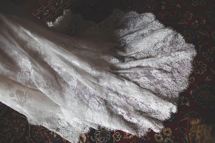 Lace Kobus Dippenaar Wedding Dress Train