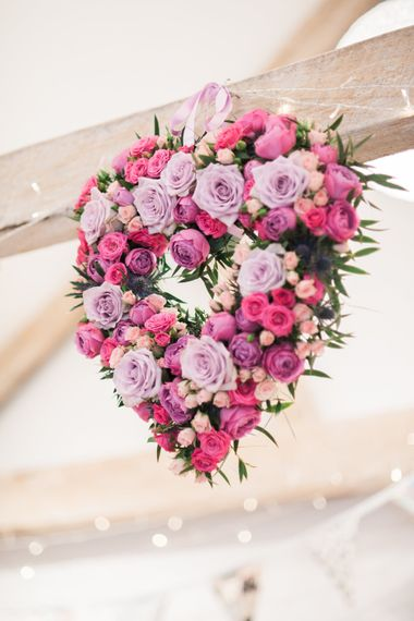 Floral Wreathe Heart