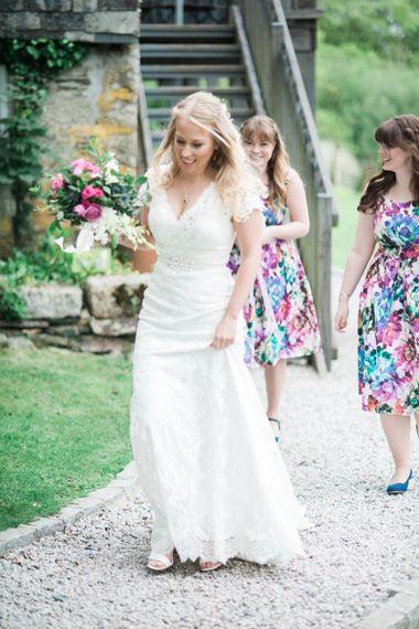 Bridesmaids in Floral Print