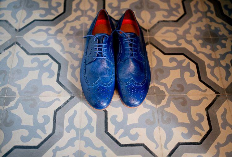 Blue Mens Shoes