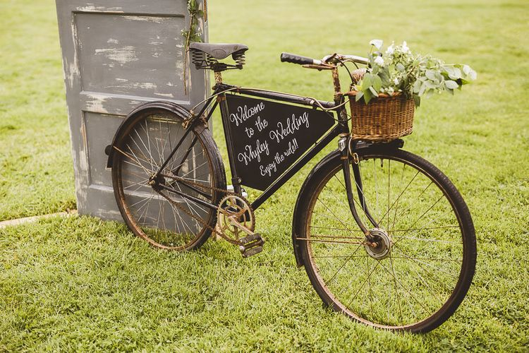 Vintage Bicycle Wedding Decor