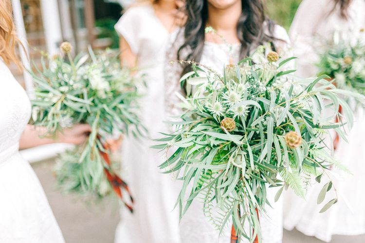 Bridesmaids Greenery Bouquet