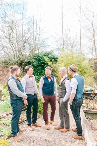 Mumford & Sons Inspired Groomsmen Outfits