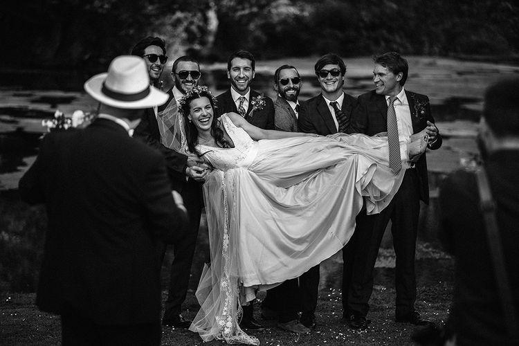 The Bride & Groomsmen