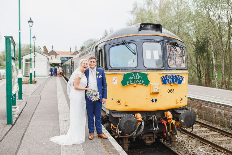 Vintage Railway Wedding