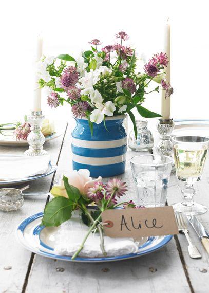 "Cornishware at <a href=""https://www.weddingshop.com/"" target=""_blank"">The Wedding Shop</a>"