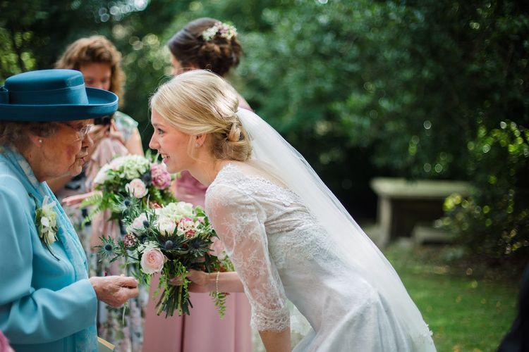 Bride in Sassi Holford
