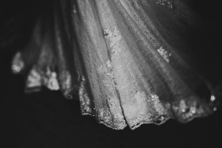 Beautiful Detail On A Nicky Flynn Wedding Dress