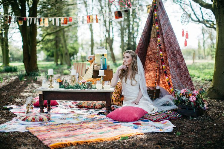 Chill Out Area with Tipi