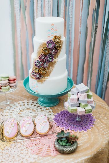 Dessert Table by The Confetti Cakery